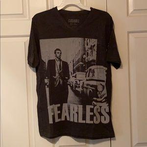 "James Dean ""fearless"" graphic t shirt"